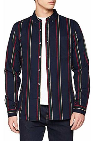 New Look Men's Washed Twill Printed 5952581 Casual Shirt