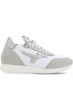 Mizuno Women Trainers - L.s. Etamin Fabric & Leather Sneakers