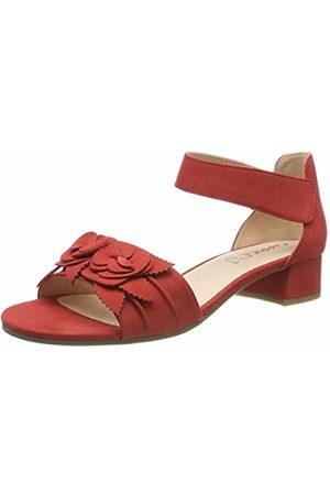 Caprice Women's Carla Ankle Strap Sandals, ( Nubuc 544)