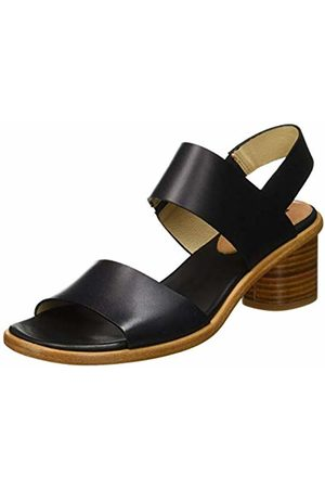Neosens Women's S976 Restored Skin Ebony/Tintilla Open Toe Sandals