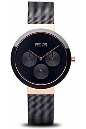 Bering Womens Analogue Quartz Watch with Stainless Steel Strap 35036-166