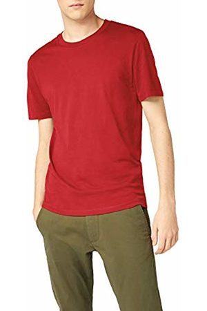 Selected Homme Men's Slhtheperfect Ss O-Neck Tee B Noos T-Shirt, Rio