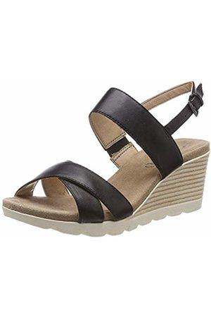 Caprice Women's Elena Ankle Strap Sandals, ( Nappa 22)