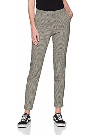 Pieces Women's Pclogan Slim Mw AOP Ankle Pant-in Trouser