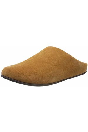 FitFlop Men's Shove Mule Leather Open Back Slippers