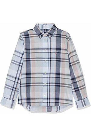 Size: 110//116 White 110 Shirt Blouse Indigo Plaid B.d Gant Boys Ku 116