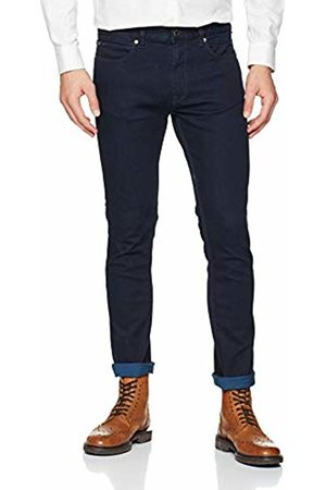 HUGO BOSS Men's 734 Straight Jeans, (Dark 401)