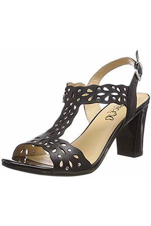 Caprice Women's Andrea Ankle Strap Sandals, ( Nappa 22)