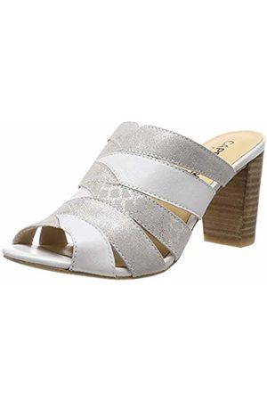 Caprice Women's Andrea Ankle Strap Sandals, ( Multi 101)