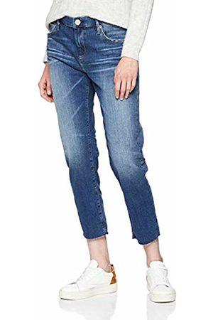 True Religion Women's New Boyfriend Cobalt Stretch Jeans, 4646