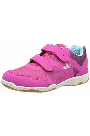 LICO Girls' Hot V Multisport Indoor Shoes, /Lila/Türkis