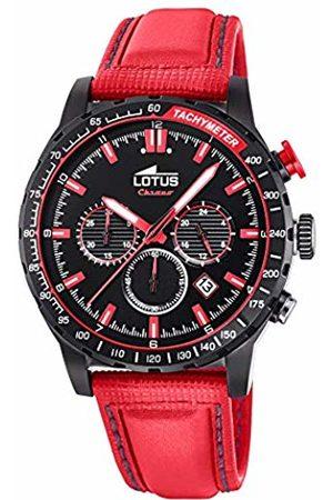 Lotus Mens Chronograph Quartz Watch with Leather Strap 18588/3