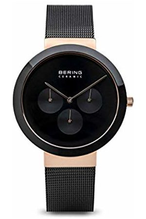 Bering Mens Analogue Quartz Watch with Stainless Steel Strap 35040-166