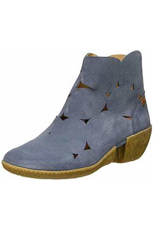 El Naturalista Women's N5483 Lux Suede Vaquero/Caliza Ankle Boots 5 UK