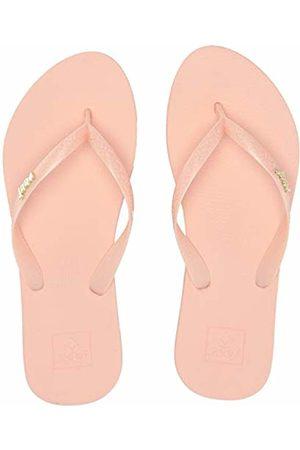 Reef Women's Escape Lux + Bling Flip Flops (Peach Pea) 8 UK