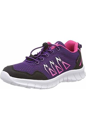 LICO Girls' Mikado Low-Top Sneakers, Lila/