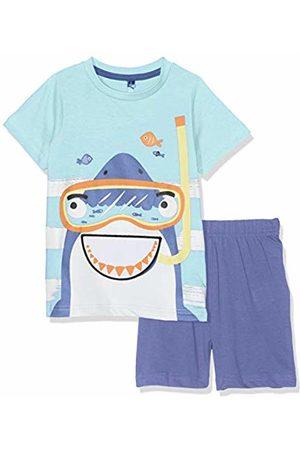 Lenny Sky Boy's Bg.jaw.psh2 Pyjama Set, Lagon/Gris