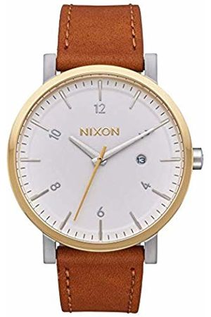 Nixon Men's Analogue Quartz Watch with Leather Strap A945-2548-00
