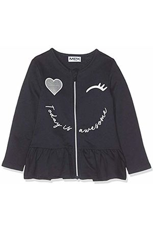 MEK Baby Girls Full Zipper Felpina Jumper