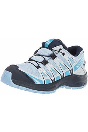 Salomon Boys Shoes - Kids XA Pro 3D CSWP J Trail Running Shoes Waterproof