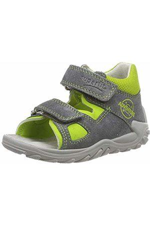 Superfit Baby Boys' Flow Open Toe Sandals, Grün 25