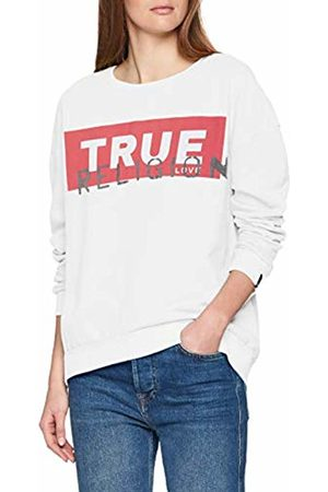True Religion Women's Crew Sweat Sweatshirt, 1700