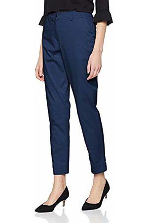 Brax Women's Maron Cotton Shine Leichte Chino Uni Verkürzt Trouser