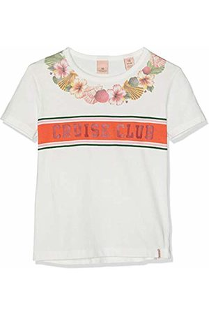 Scotch&Soda R´Belle Girl's Relaxed Fit Short Sleeve Tee with Placed Artworks Sports Tank Top, ( 001)