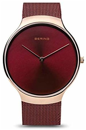 Bering Womens Analogue Quartz Watch with Stainless Steel Strap 13338-Charity
