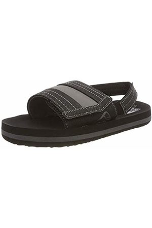 Reef Boys' Little Ahi Slide Flip Flops, ( Bla)