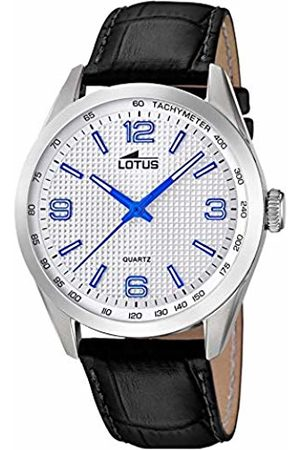 Lotus Mens Analogue Quartz Watch with Leather Strap 18149/3
