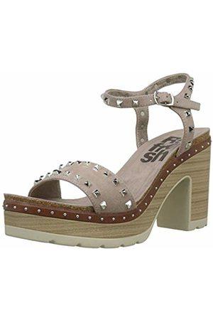 Refresh Women's 69817 Platform Sandals Taupe 4.5 UK