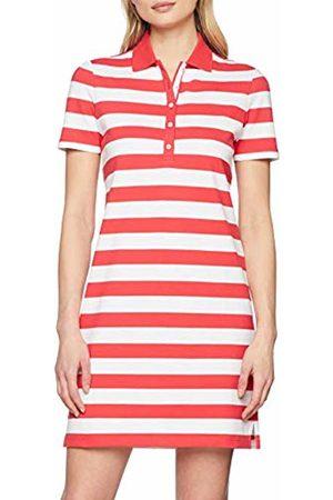 Brax Women's Gweneth Dresses Piqué Stripes Baumwollkleid Polokragen Gestreift Summer 43