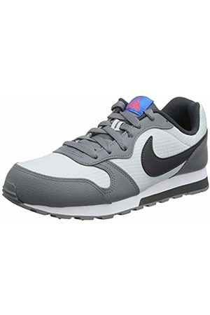 Nike Girls' Md Runner 2 (Gs) Running Shoes, (Pure Platinum/Anthracite/Cool 015)