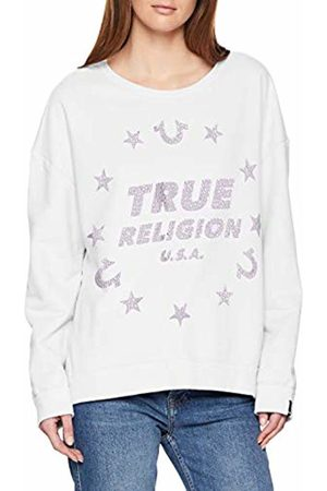 True Religion Women's Crew Sweat Stars Sweatshirt, 1700