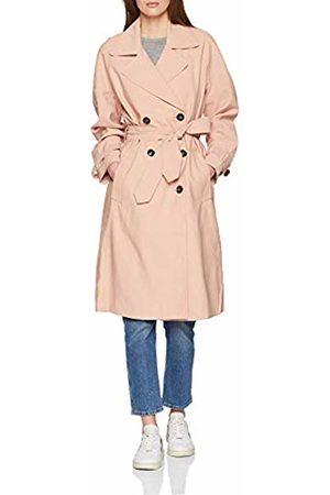 Only Women's Onlemilia Long Trenchcoat Cc OTW Coat, Rose Smoke