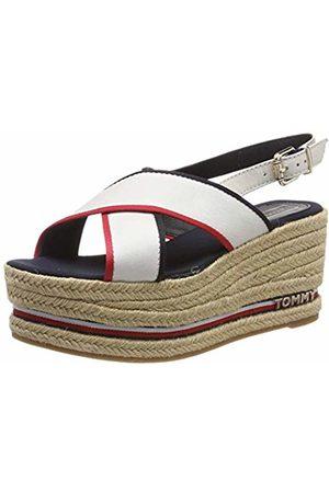 Tommy Hilfiger Women's Flatform Sandal Corporate Ribbon Platform