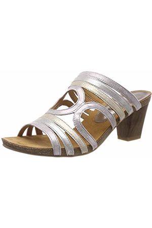 Caprice Women's Chenoa Ankle Strap Sandals, (Soft MUL. 579)