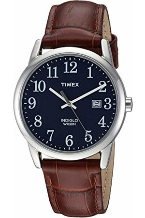 Timex Mens Analogue Classic Quartz Connected Wrist Watch with Leather Strap TW2R63800