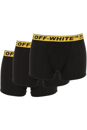 OFF-WHITE Pack Of 3 Cotton Blend Boxer Briefs