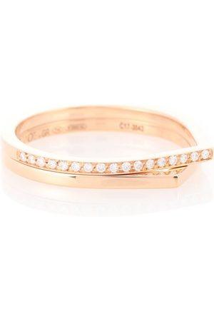Repossi Antifer 18kt rose and diamond ring
