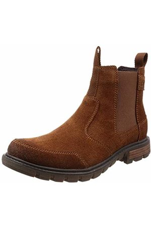 Caterpillar Men's Economist Chelsea Boots, (Rust )