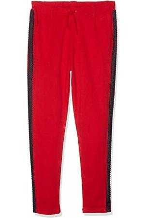 Name it Girls' NKFBIANNA IDA Ankle Pant NOOS Trousers, (Rot True )