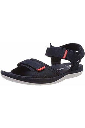 Clarks Men's Step Beat Sun Closed Toe Sandals, (Navy-)