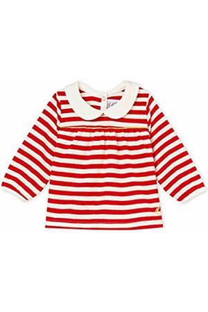 Petit Bateau Baby Girls' Blouse ML_4585501 (TERKUIT/Marshmallow 01)