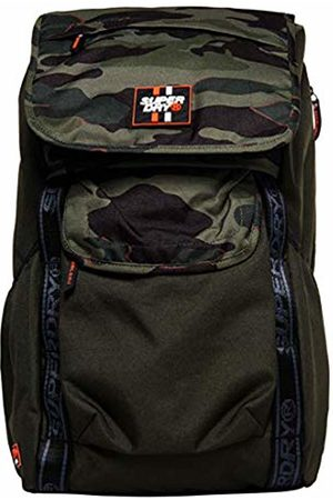 Superdry Men's M91023MTBackpack Multicolour Multicolore (Misprint Camo/Forest)