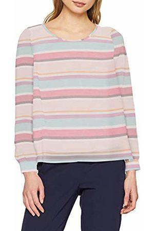 Comma, Women's 81.903.11.8942 Blouse, Mehrfarbig AOP Stripes 44s3