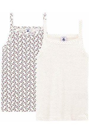 Petit Bateau Girls' Chemise à Bretelles_4892600 Vest