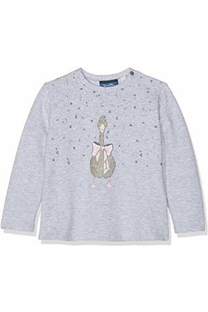 Sanetta Baby Girls Sweatshirt (Hellgrau Melange 1646)