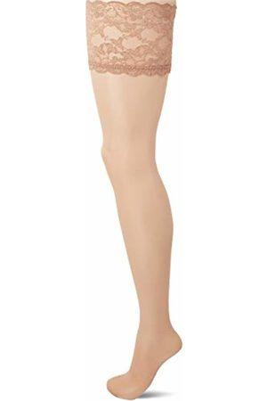 0f288b7c80a Ulla Popken Women s Halterloser Strumpf Hold-up Stockings